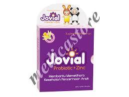 Salep Zink jovial probiotic zinc sacchet