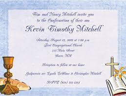 confirmation invitations confirmation communion religious invitations boy religious