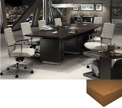 Global Boardroom Tables Laminate Boatshape Meeting Room Table