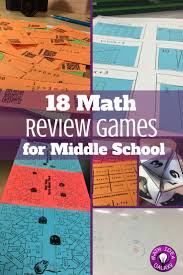 18 math review games for middle math test math and middle