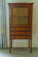 Oak Glazed Display Cabinet Oak Display Cabinets Ebay