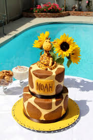giraffe themed baby shower 7 best baby shower images on baby shower cakes