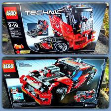 lego ferrari truck lego race truck 8041 ebay
