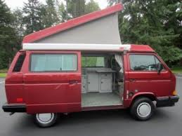 Westfalia Awning For Sale 1989 Vw Vanagon Westfalia Camper Red Manual 102k Miles Auction In