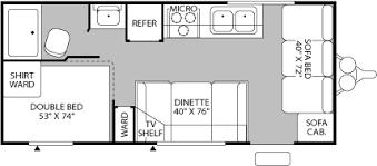 Fleetwood 5th Wheel Floor Plans 2003 Fleetwood Rv Pioneer 18t6 Used Travel Trailer Camper For Sale