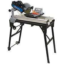 sliding table tile saw king canada kc 3010nb 10 inch sliding tile saw with laser guide