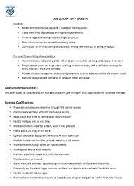 Job Descriptions For Resumes by Barista Resume Job Description Http Jobresumesample Com 1815