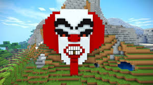 minecraft tutorial how to make a clown house scary halloween