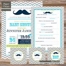 fetching mustache birthday party invitations birthday party
