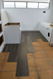 Wood Floors In Bathroom by Reasons To Install Vinyl Plank Flooring In Your Trailer Or Rv