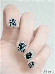 71 best aztec nail art images on pinterest aztec nail art aztec