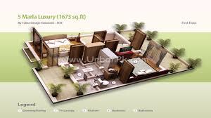 5 marla house design with basement youtube