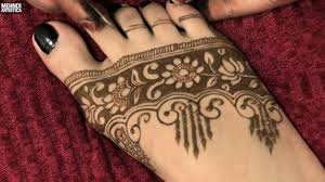 how to draw shaded floral mehndi designs easy simple heena