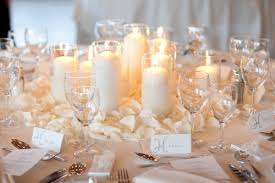 winter wedding table decorations photos trendy mods com