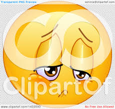 small halloween emoticons transparent background clipart of a cartoon sad yellow smiley face emoij emoticon