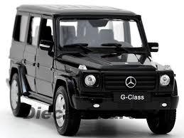 mercedes g suv mercedes g class g55 amg black 1 24 diecast model car by welly