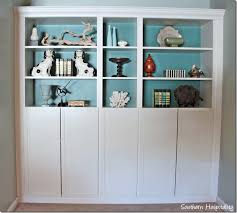 Wall Bookcases With Doors Ikea Hacks The Best 23 Billy Bookcase Built Ins Billy