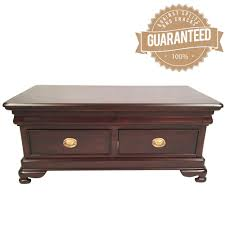 mahogany coffee table with drawers style solid mahogany timber coffee table 4 drawers 9116