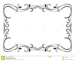 floral ornamental decorative frame stock photos image 17693563