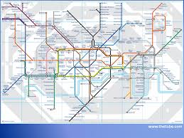 London Metro Map by New London Underground Map For Passengers With Conditions Such As