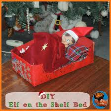 diy elf on the shelf bed kid blogger network activities u0026 crafts