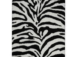 rug style polypropylene zebra rug wayfair bella print black