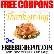 free thanksgiving coupons free savings on thanksgiving dinner