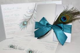peacock wedding invitations peacock wedding invitations silver and teal fabulous glam
