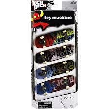 Tech Deck Blind Skateboards Tech Deck Fingerboard 4 Pack Toy Machine Walmart Com