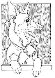 german shepherd coloring page good german shepherd coloring pages