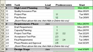 Project Schedule Gantt Chart Excel Template Excel Gantt Chart Template Giveaway Contextures