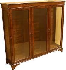 3 Door Display Cabinet Reproduction Display Cabinets A1 Furniture Enfield