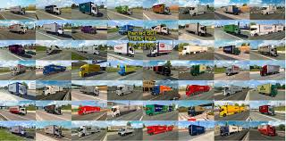 skin pack new year 2017 for iveco hiway and volvo 2012 2013 jazzycat download ets 2 mods truck mods euro truck simulator 2