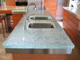 plan de travail cuisine verre plan en verre pour cuisine idée de modèle de cuisine