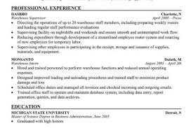 Shipping And Receiving Resume Objective Examples by Shipping Supervisor Resume Reentrycorps