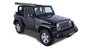 jeep wrangler light grey sunseeker foxwing eco bracket kit jeep wrangler 2dr 32122