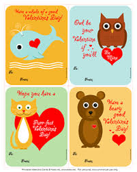 kids valentines day cards 60 free s day class card printables for children