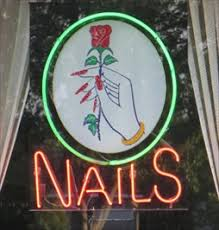 lyly nails sacramento ca neon signs on waymarking com