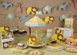 jungle baby shower favors safari baby shower decorations with artificial animals and jungle