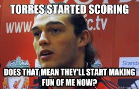 Fernando Torres Meme - andy carroll is the new fernando torres memes quickmeme