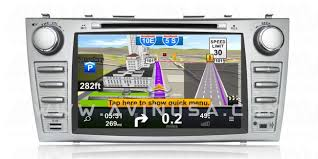 gps toyota camry toyota camry 8 2007 2011 avant 2 android gps navigation
