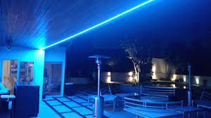 brightest outdoor blue patio lights