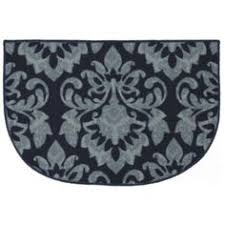 Damask Kitchen Rug Central Oriental Interlude Damask Black Area Rug My New Dining