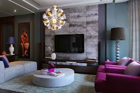 Living Room With Purple Sofa Purple Decoration Tips And Tricks For Your Living Room Vizdecor