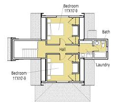 one room cabin floor plans small houses plans 1st level 3 bedroom small modern house plan