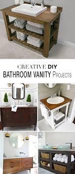 diy bathroom vanity ideas best 25 diy bathroom vanity ideas on farmhouse vanity