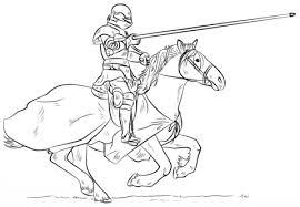 coloriage chevalier coloriages à imprimer gratuits