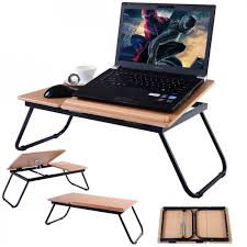 Bed Computer Desk Safstar Foldable Laptop Notebook Desk Computer Table