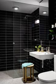 chic design black tile bathroom ideas black tile bathroom wall