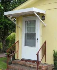 Awning Kits Front Porch Overhang Designs Door With Columns Images Doors